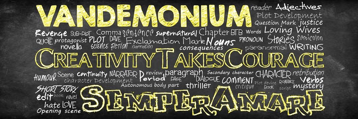 Vandemonium and CreativityTakesCourage – Welcome to our